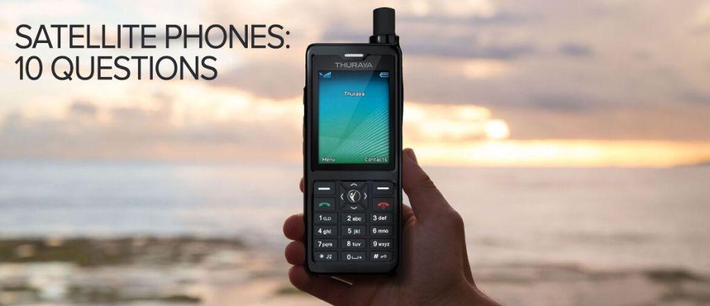 Téléphones par satellite: 10 questions qui révèlent plus à leur sujet