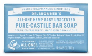 Dr. Bronner's barsoap_baby_front