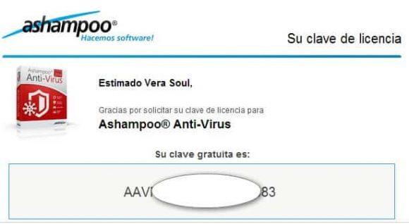 Licencia Ashampoo Antivirus