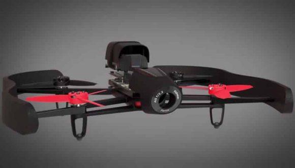Parrot Bebop: un drone que puede grabar a 180 grados