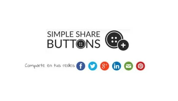 Simple Share Buttons: comparte en tus redes