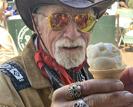 Vera's luxury ice cream