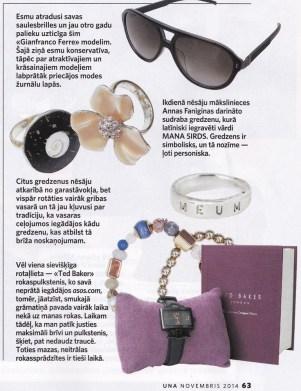 žurnāls UNA,novembris 2014