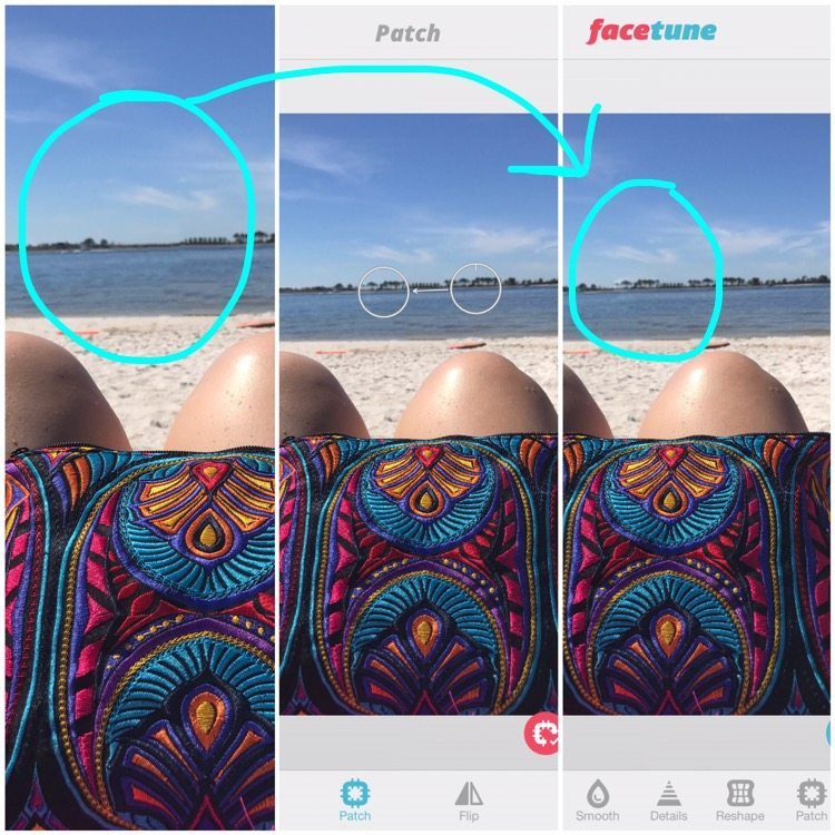 editing photos for Instagram blogger on the go iPhone edits