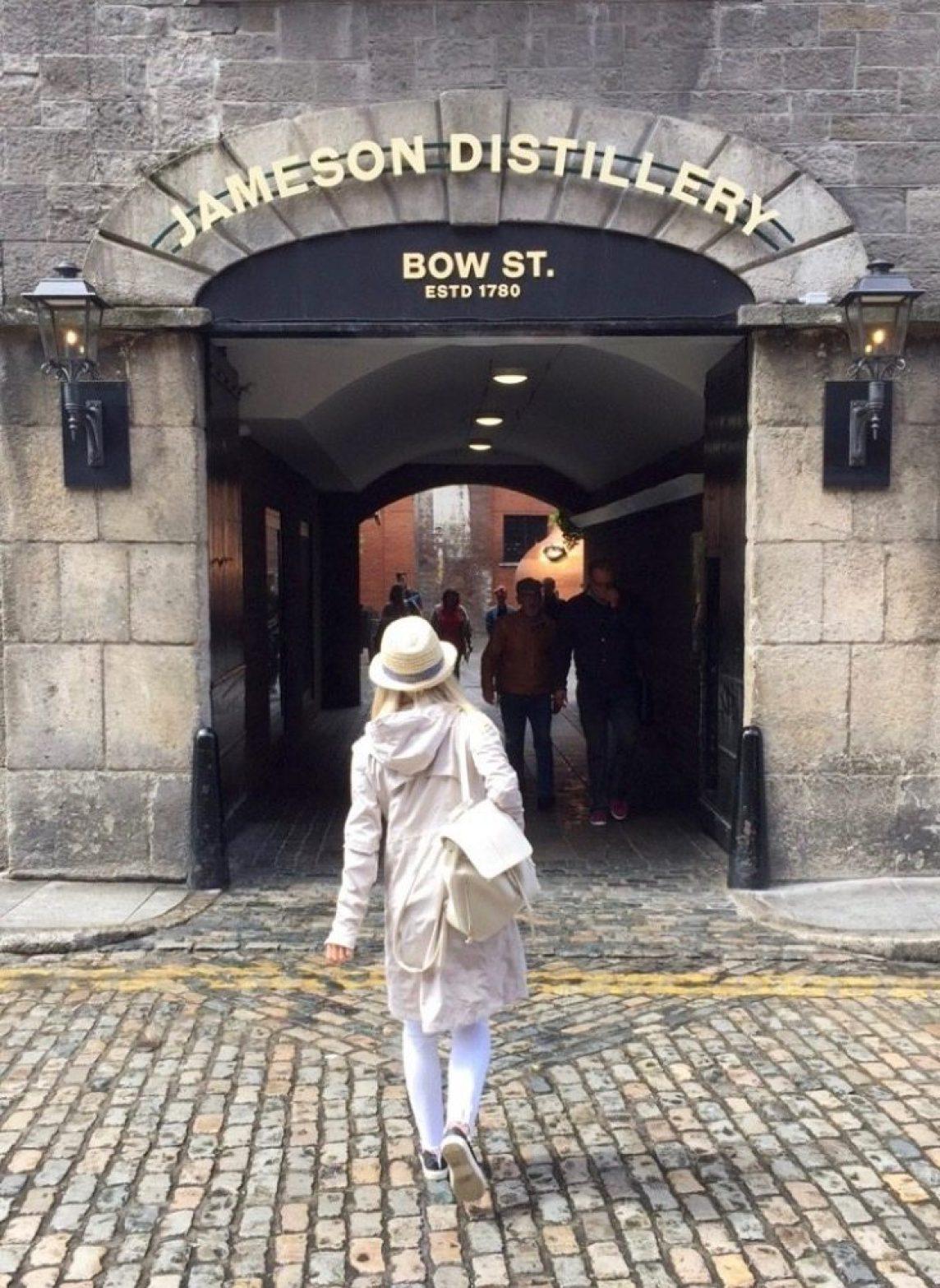 Dublin ireland jameson distillery