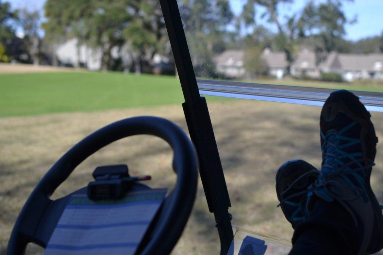 relaxing golf
