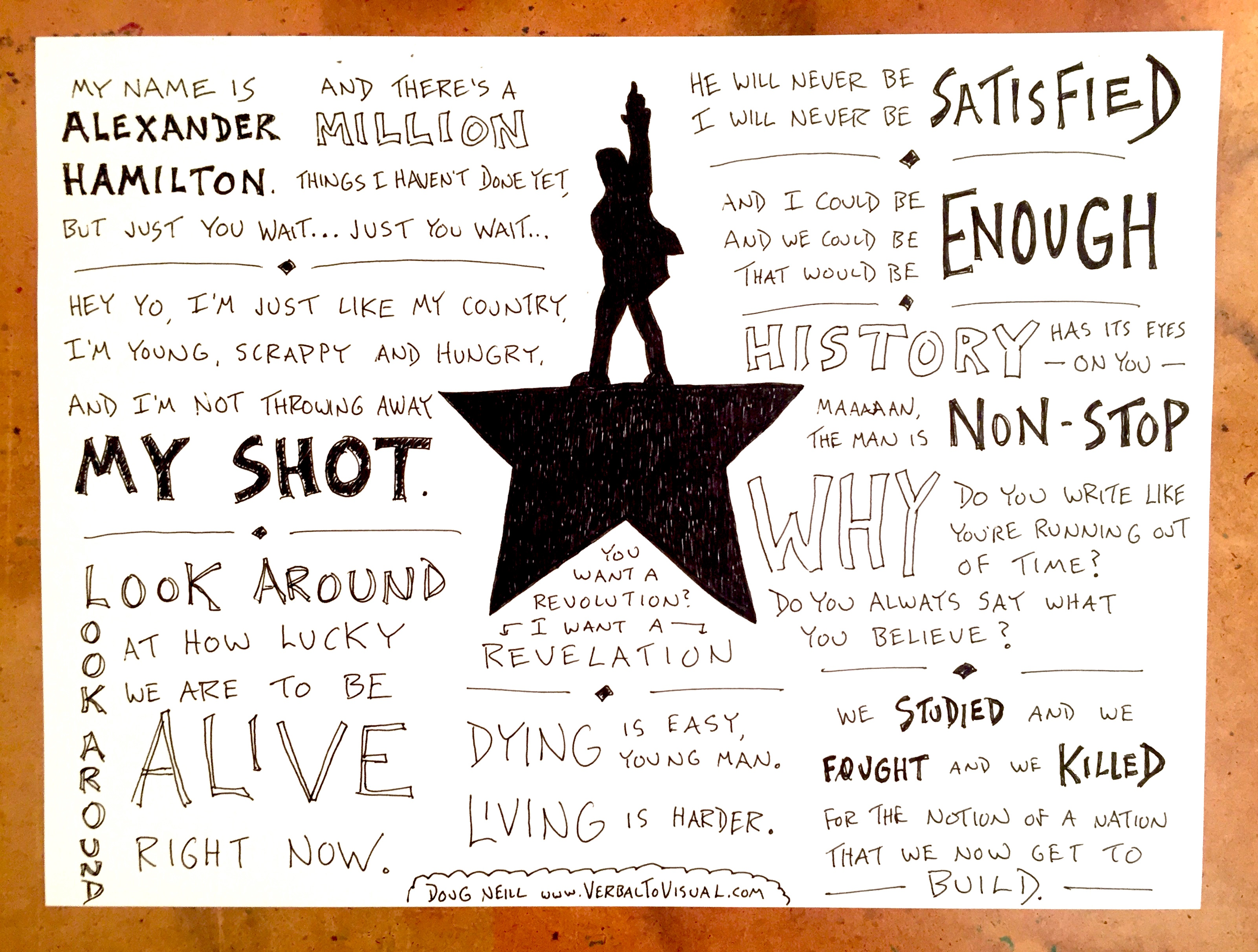Hamilton Lyrics How A Single Phrase Opens An Entire World