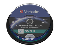 Verbatim M-Disc DVD R 10er-Pack, Spindel