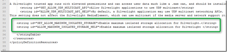 Group Policy Settings for Silverlight 4 - FIXED - Anything ...