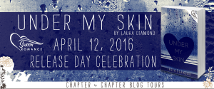 Release Day Celebration: Under My Skin by Laura Diamond with Giveaway