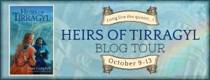Heirs of Tirragyl by Joan Campbell: Blog Tour + Spotlight + Giveaway!