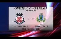 C5: Citta di Vercelli – Borgo Ticino 2-3, Coppa Italia