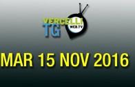 TG – Mar 15 Nove 2016