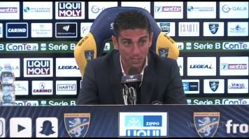 Moreno Longo commenta Frosinone – Pro Vercelli