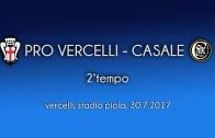 Pro Vercelli – Casale (2°tempo)