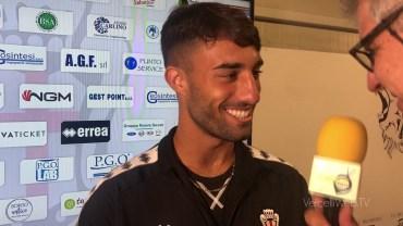 Pro Vercelli-Carrarese 3-1: Luca Crescenzi, difensore Pro Vercelli