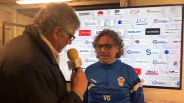 Pro Vercelli-Piacenza 1-1: Vito Grieco, allenatore Pro Vercelli