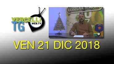 TG – Ven 21 Dic 2018