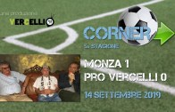 Corner 2019/2020, Monza – Pro Vercelli 1-0
