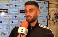 Pro Vercelli – Albinoleffe 1-0: Giacomo Cecconi, attaccante Pro Vercelli