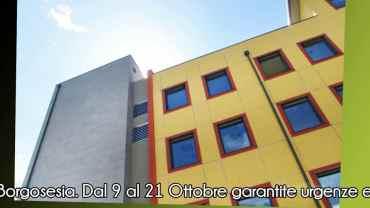 Borgosesia: installazione della nuova TAC presso l'ospedale