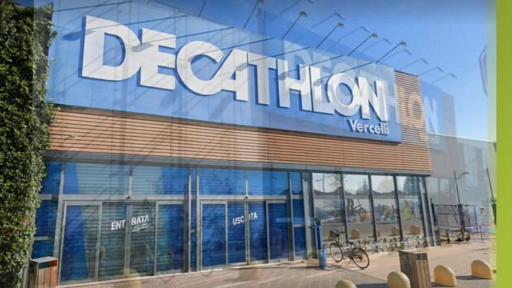 Vercelli: sorpreso a  rubare alla Decathlon, denunciato