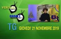 TG – Giovedì 21 novembre 2019