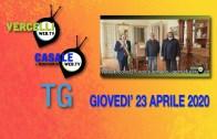 TG – Giovedì 23 aprile 2020