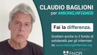 Claudio Baglioni per #NOICONGLIINFERMIERI