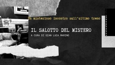 """Salotto del Mistero: """"Un misterioso incontro sull'ultimo treno"""" di Gian Luca Marino"""