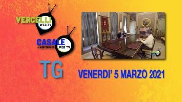 TG – Venerdì 5 marzo 2021