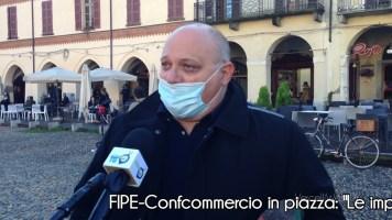 """FIPE-Confcommercio in piazza: """"Le imprese meritano di sapere quando ripartire"""""""