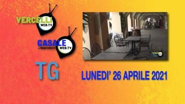 TG – Lunedì 26 aprile 2021