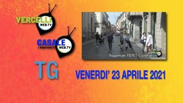 TG – Venerdì 23 aprile 2021