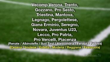 Calcio serie C: cominciano a delinearsi i gironi per la prossima stagione 2021/2022