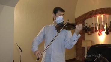 """Vercelli: un violino """"particolare"""" per il concerto del 1° agosto"""