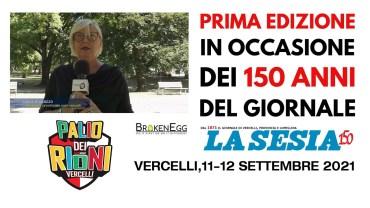 Palio dei Rioni: 11 e 12 settembre per i 150 anni del giornale La Sesia – Laura Musazzo, CONI