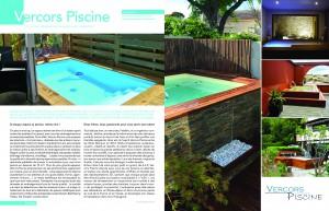 vercors piscine bois