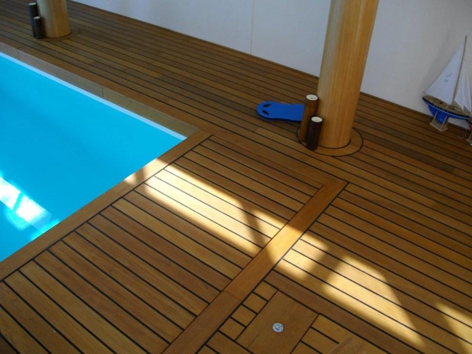 terrasse en teck haute qualit vercors piscine. Black Bedroom Furniture Sets. Home Design Ideas