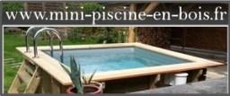 Mini piscine en bois