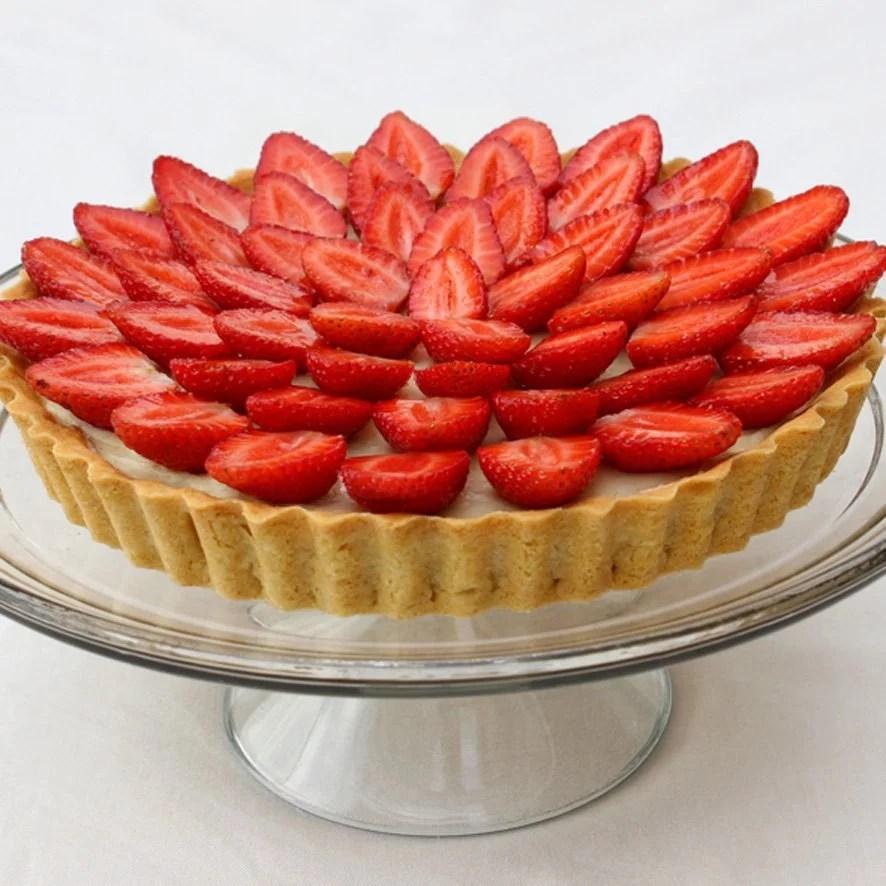 torta de morango receita