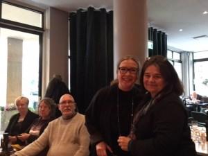 Verdandis förbundsstyrelse tackar av Gunvi Haggren efter 40 års socialpolitiskt arbete för Verdandi.