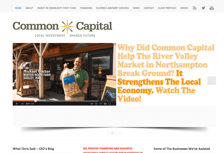 common capital homepage