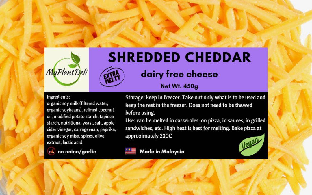 Vegan Shredded Extra Melty Cheddar Cheese