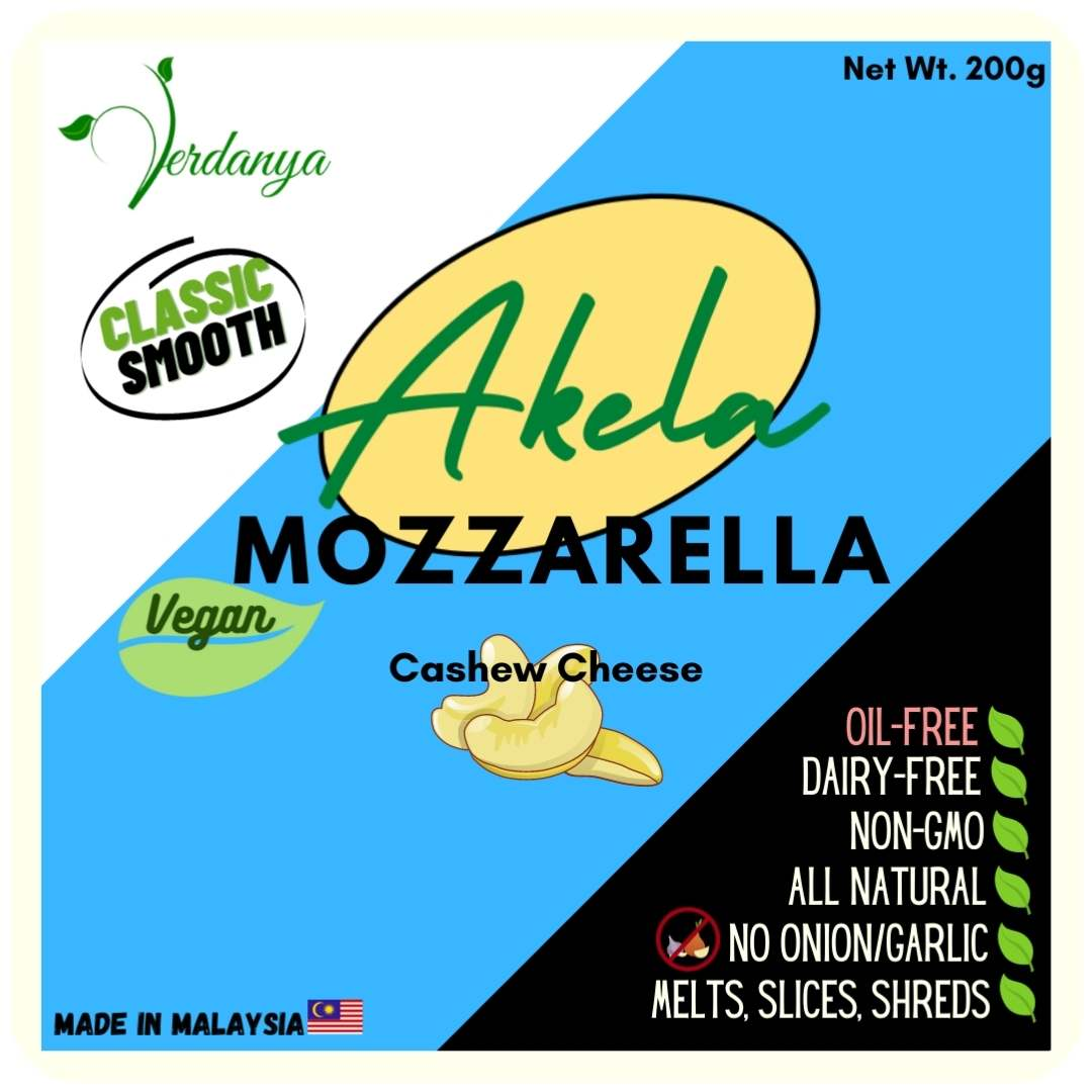 vegan cashew cheese akela verdanya Malaysia