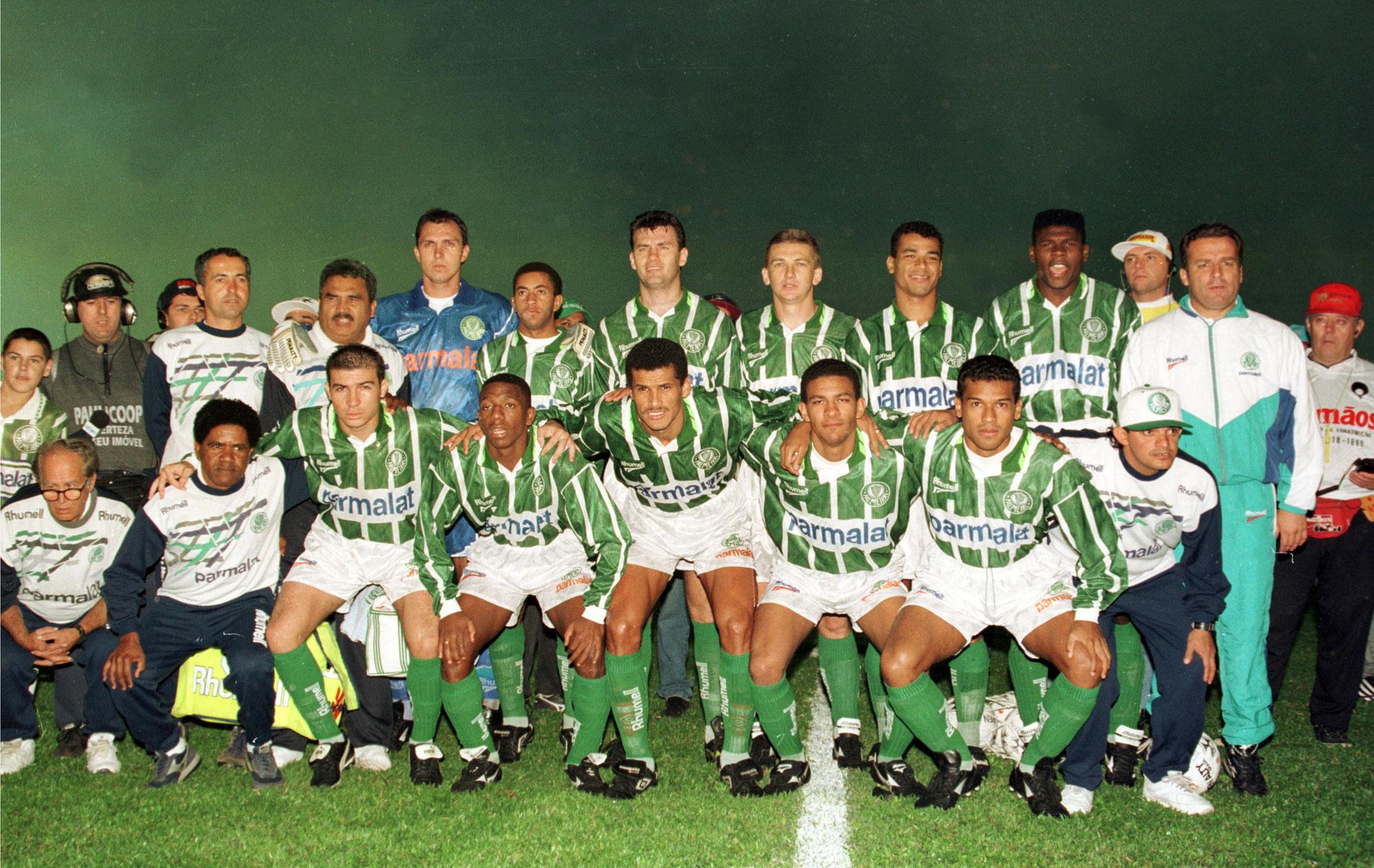 Palmeiras 2x0 Santos 1996