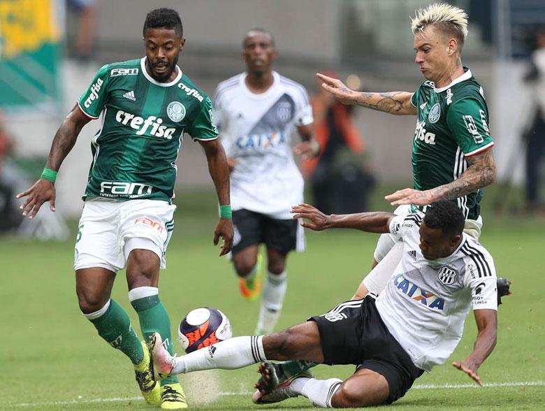 Palmeiras 1x1 Ponte Preta