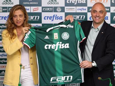 Mauricio Galliote e Leila Pereira