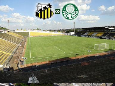 Pré-jogo Novorizontino x Palmeiras