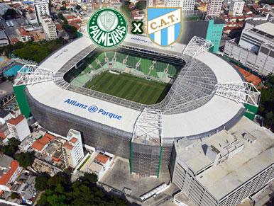Pré-jogo Palmeiras x Atlético Tucumán